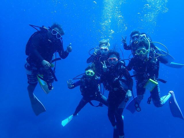 5つのポイントを掴んでおけば安心!初めての体験ダイビング│宮古島体験ダイビング徹底比較