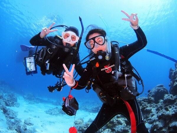 初心者にはマンツーマン対応してくれるショップが絶対安心!│宮古島体験ダイビング徹底比較